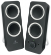 Logitech (Logitech Z200 Speakers Midnight Black) 980-000810