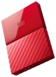 WD (Внешний жесткий диск WD My Passport WDBUAX0040BRD-EEUE 4TB 2,5' USB 3.0 Red)